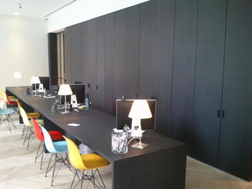 Biuro minimalistyczne...